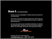 Bryce S | Welcome