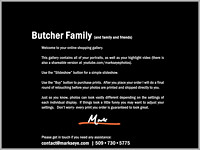 Butcher Family | Welcome