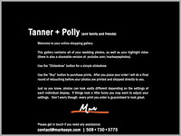 Tanner + Polly | Welcome