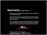 Wood Family | Welcome