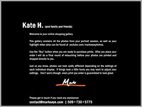 Kate | Welcome