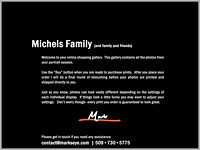 Michels Family | Welcome