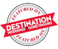 Featured in Destination Weddings & Honeymoons