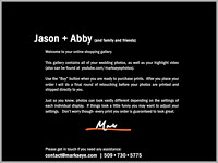 Jason + Abby | Welcome